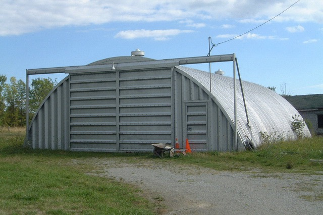 A quonset hut in Ontario