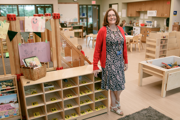 JaneAnn Benson, director of the Phyllis Fratzke Early Childhood Learning Laboratory