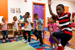 Kids at Development Centers' Winston Head Start
