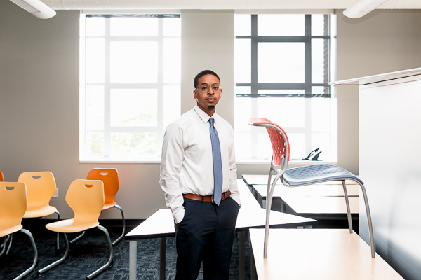 Michael Payne is a ninth grade math teacher at Henry Ford Academy: School for Creative Studies