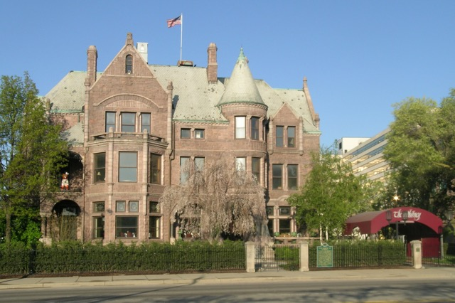 The Whitney mansion and restaurant