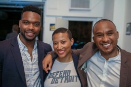 The partners of Century Partners (left to right: David Alade, Kim Dowdell, Andrew Colom)