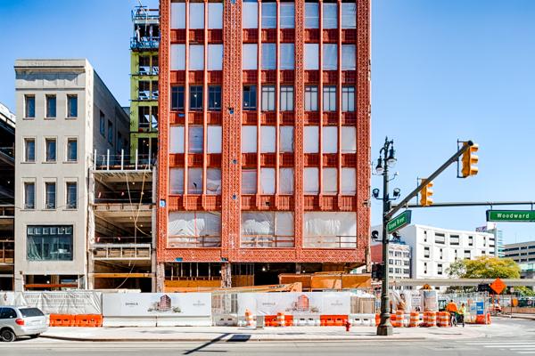 Shinola Hotel Under Construction