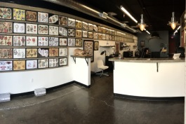 Interior of Electric Park Tattoo