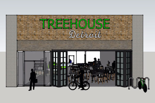Rendering of Treehouse