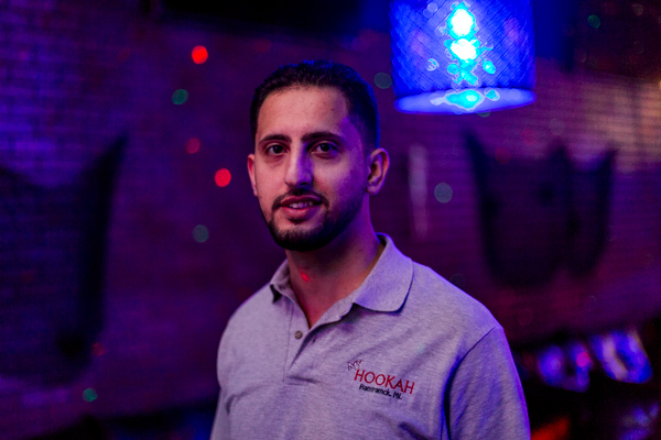 Ali Zindani, owner of MyHookah Lounge