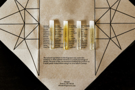 A sampler featuring some of Sfumato's fragrances