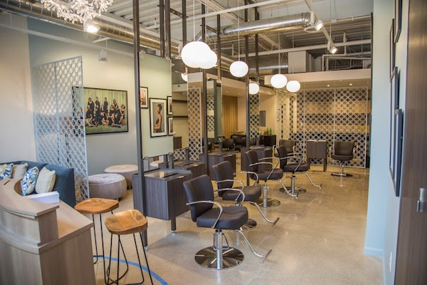 Interior of Paralee Boyd Salon