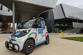 Lawrence Tech's award-winning autonomous vehicle