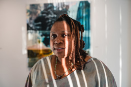 Asia Hamilton, the director and chief curator of The NorWest Art Gallery