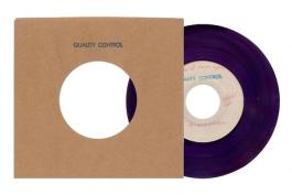 "Third Man Records' release of Frank Wilson single ""Do I Love You (Indeed I Do)"" in purple vinyl"