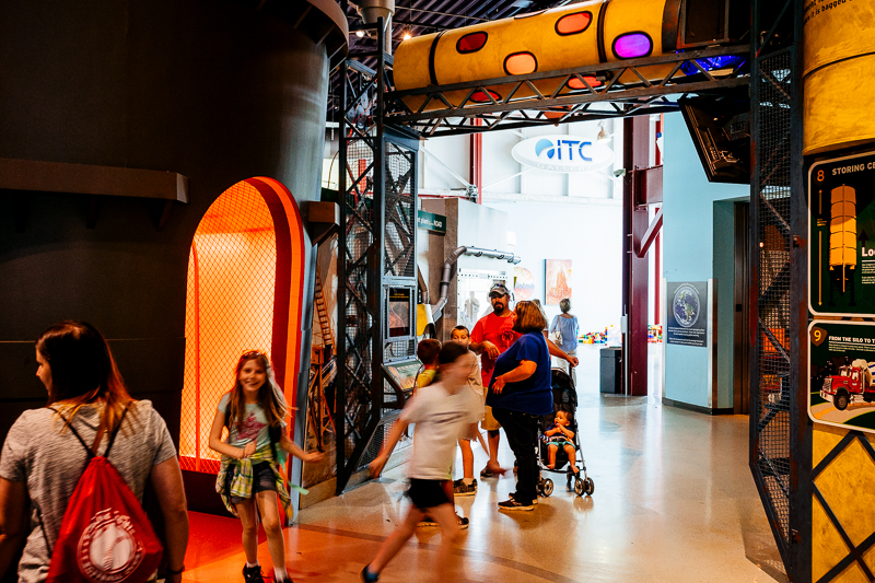 STEM learning event for kids at the Michigan Science Center