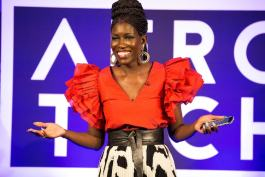 Bozoma Saint John of Uber speaks at AfroTech in 2017