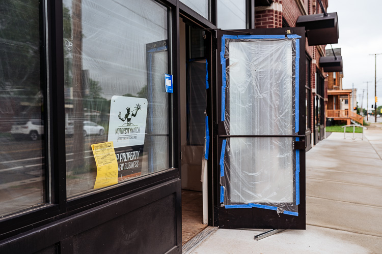 A new storefront in the West Village renovated with help from a Motor City Match grant