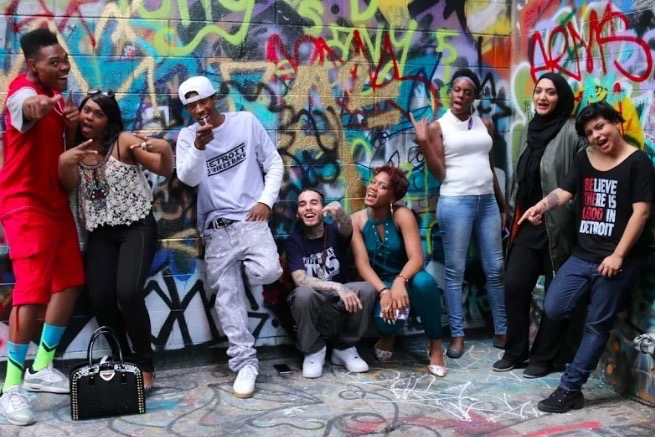 The cast of Street Cred