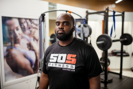 Bear Sanusi, owner of SOS Fitness