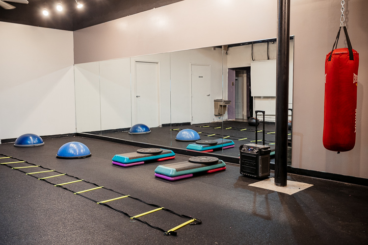 Equipment at SOS Fitness