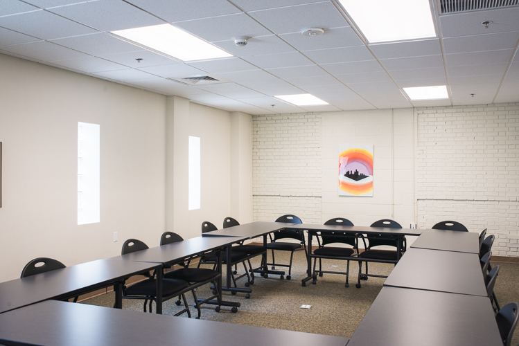 Meeting room at Central Detroit Christian
