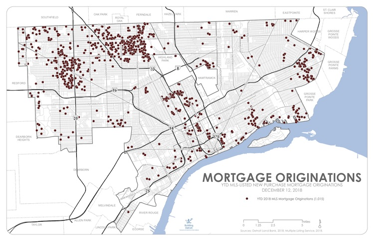 Milestone reached: 1,000th mortgage recorded in Detroit for 2018