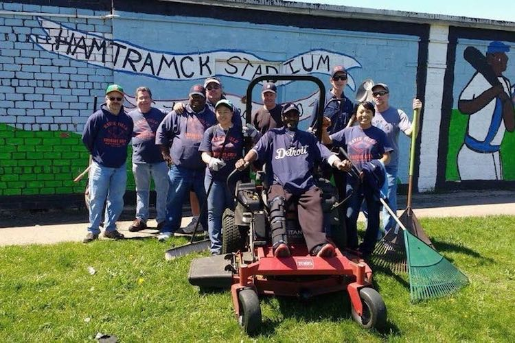 Hamtramck Stadium Grounds Crew
