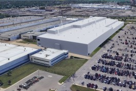 A rendering of FCA's proposed factory.