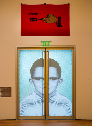 Myopia exhibit at the Akron Art Museum