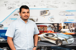 Deven Khatri is pursing a master's degree in transportation design at College for Creative Studies.