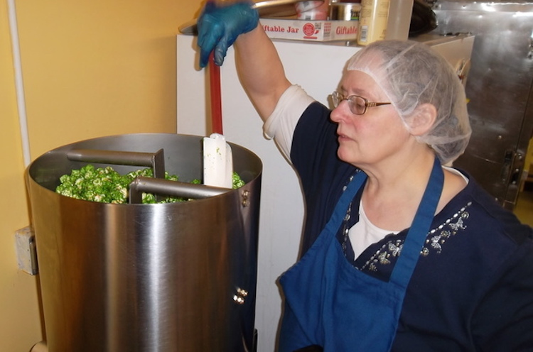 Pat At Work With The Caramelizer