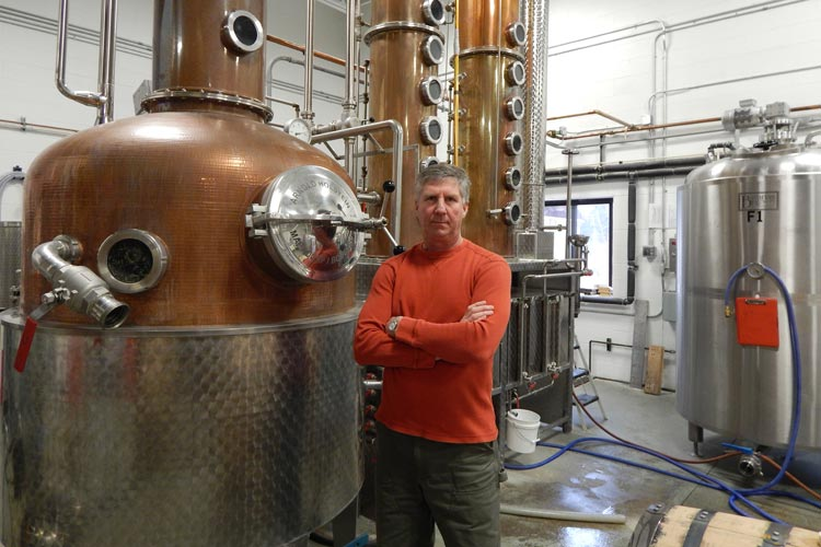 Ken Rabish of Grand Traverse Distillery