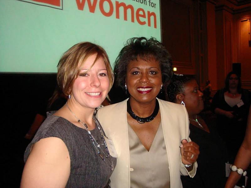 Tawnee McCluskey with the Honorable Anita Hill