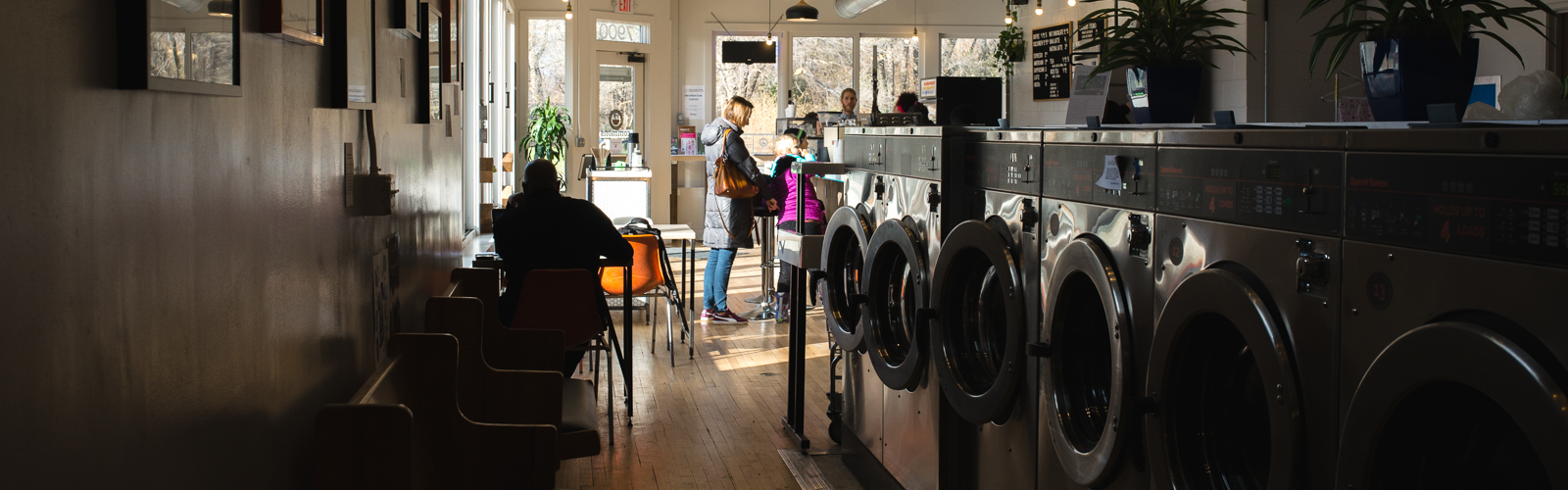 Laundromat at The Commons <span class='image-credits'>Steve Koss</span>