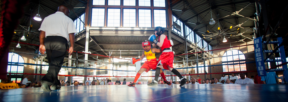 Downtown Detroit Youth Boxing Gym Fundraiser at Eastern Market  Photo by Marvin Shaouni