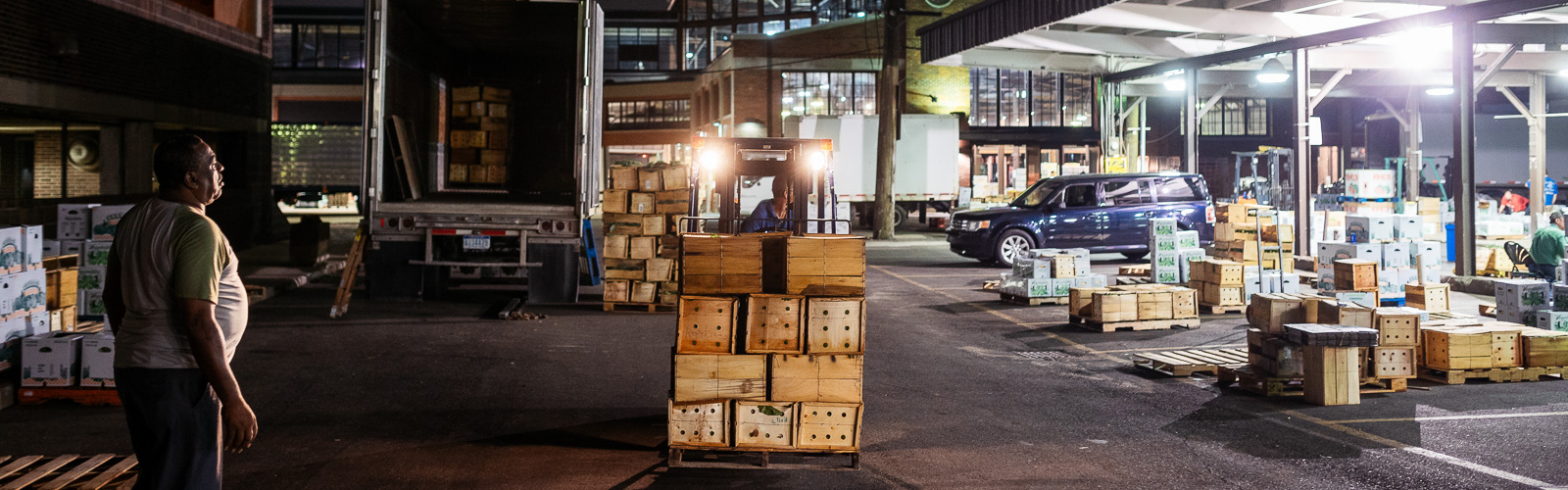 Wholesale night market at Eastern Market <span class='image-credits'>Nick Hagen</span>
