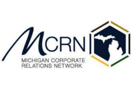 Michigan Corporate Relations Network logo.